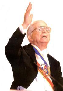 A 10 Años de la muerte del extinto líder y expresidente por 22 años en la Rep. Dom. el  Dr. Joaquín Antonio Balaguer Ricardo