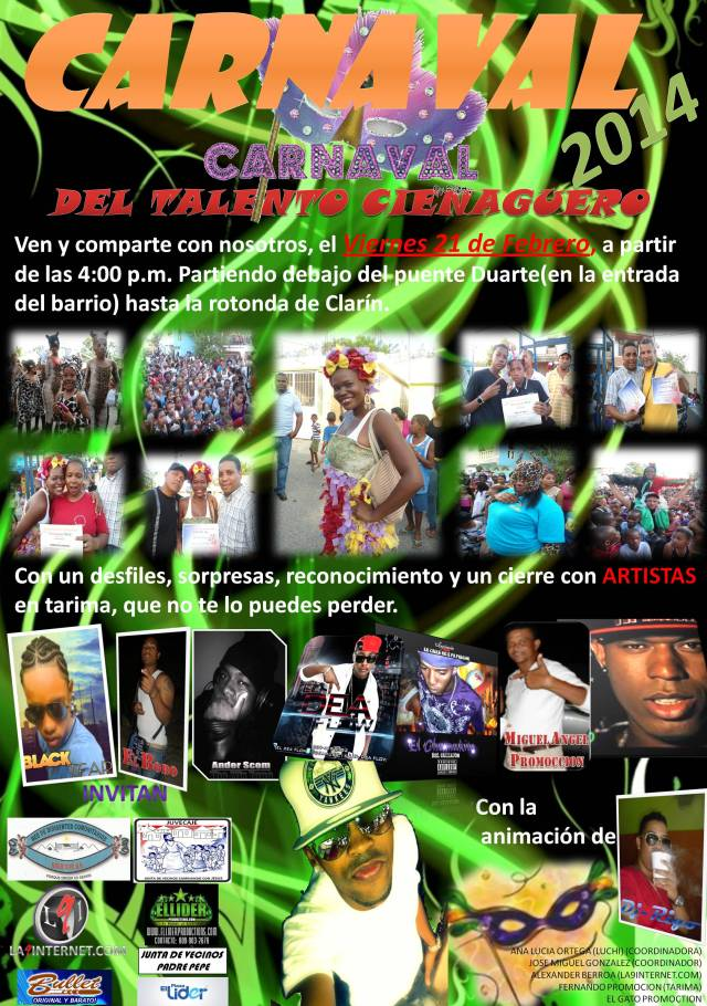 Carnaval del talento cienaguero 2014
