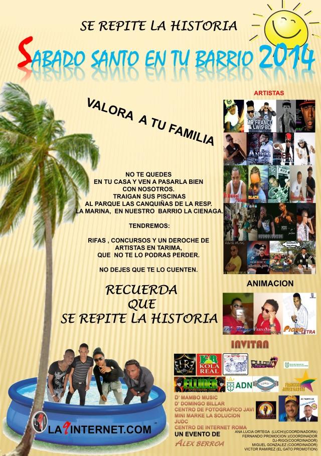 Sábado Santo en tu Barrio 2014