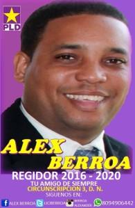 alex berroa regidor